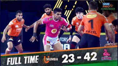 Pro Kabaddi League 2019: Jaipur Pink Panthers ची विजयी सुरुवात; U Mumba संघावर  मात