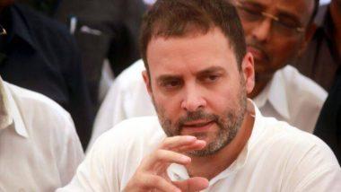 जम्मू-कश्मीर मधून कलम 370 हटवल्याने राष्ट्रीय सुरक्षा धोक्यात- राहुल गांधी