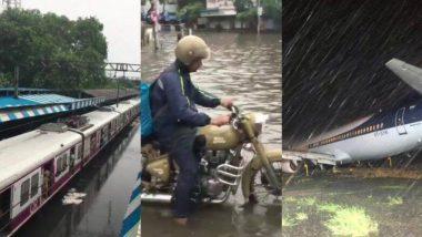 Maharashtra Monsoon 2019 Live Updates: मुंबईची लाईफ लाईन हळूहळू पूर्वपदावर; धिम्या गतीने हार्बर आणि मध्य रेल्वे सुरू