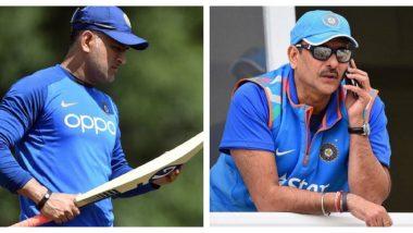 ICC World Cup 2019: एम एस धोनीला न्यूझीलंड विरुद्ध सेमीफाइनलमध्ये 7 व्या क्रमांकावर का पाठविले? वाचा रवि शास्त्री यांचे स्पष्टीकरण
