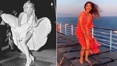 व्हिडिओ: मर्लिन मुनरो करण्याच्या नादात फसली आणि स्वत:वरच हसली शिल्पा शेट्टी; काय घडलं स्वत:च पाहा