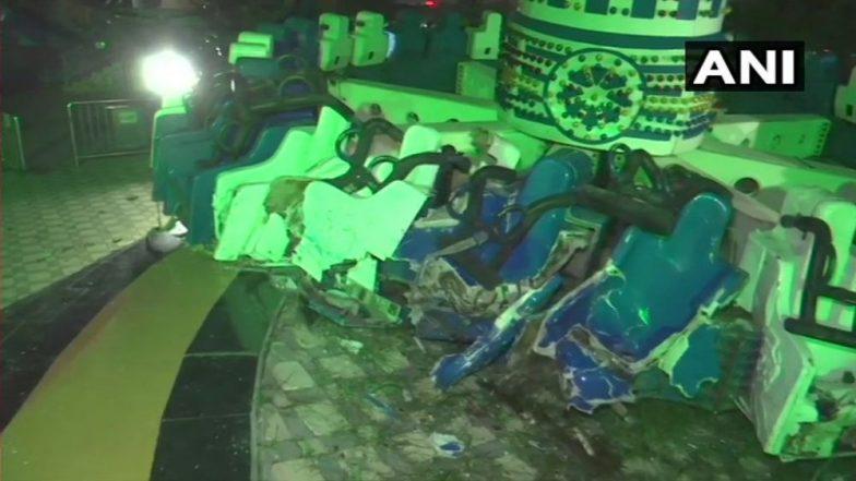 अहमदाबाद: अम्युझमेंट पार्कमधील झोपाळा तुटल्याने 3 जाणांचा मृत्यू तर 26 जण जखमी
