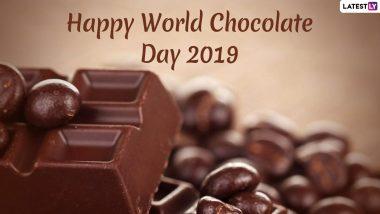 World Chocolate Day 2019 Wishes: जागतिक चॉकलेट दिनानिमित्त शुभेच्छा देण्यासाठी खास Wishes, Messages, Greeting and GIFs