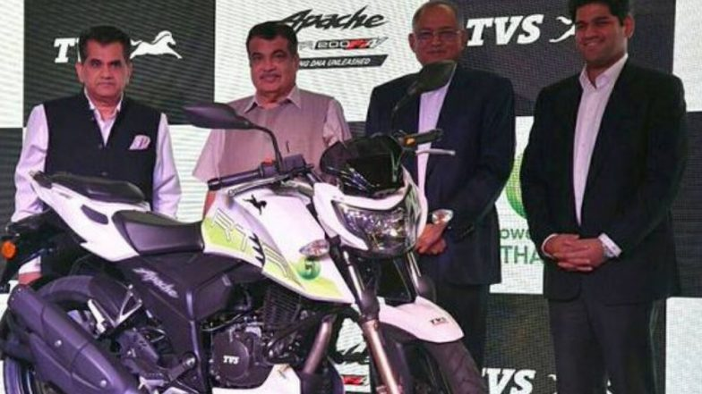 देशातील पहिली TVS कंपनीची इथेनॉलवर चालणारी मोटरसायकल लॉन्च