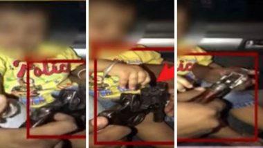 टिटवाळा: गोळ्यांनी भरलेली पिस्तुल मुलाच्या हट्टापायी दिली हातात, व्हिडिओ बनवत ठेवला WhatsApp Status