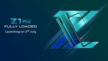 Vivo Z1 Pro Sale: आज दुपारी 12 वाजता सुरु होणार Vivo Z1 Pro चा सेल; जाणून घ्या काय आहे फोनची किंमत आणि फिचर्स