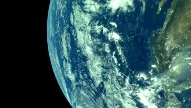 Chandrayaan 2 ने धाडलेली पृथ्वीची झलक ISRO ने केली शेअर, तुम्ही पाहिलंत का? (See Photos)