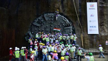 मुंबई: कुलाबा-वांद्रे-सीप्झ या मेट्रो 3 च्या मार्गाचे आझाद मैदान ते मुंबई सेंट्रल स्टेशनपर्यंतचे भुयारीकरण पूर्ण