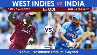 Live Streaming of IND vs WI, 1st ODI Match: भारत विरुद्ध वेस्ट इंडिज लाईव्ह सामना आणि स्कोर पहा Sony Ten आणि SonyLiv Online वर