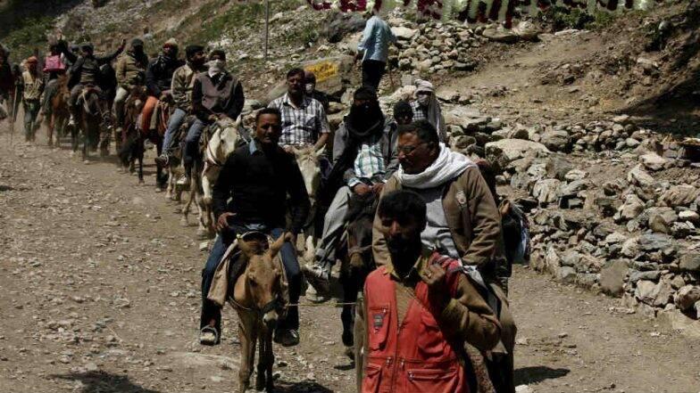 जम्मू-काश्मीर: अमरनाथ यात्रा स्थगित; सुरक्षेच्या कारणास्तव भाविक, पर्यटकांना तात्काळ काश्मीर सोडण्याच्या सूचना