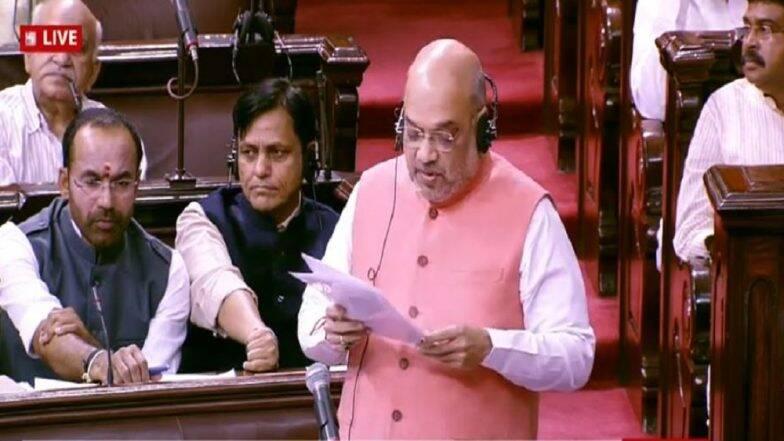 जम्मू-कश्मीर साठी आपले प्राणसुद्धा देऊ- गृहमंत्री अमित शाह