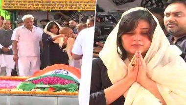 सुषमा स्वराज यांच्यावर विद्युत दाहिनीत अंतिम संस्कार; शासकीय इतमामात शेवटचा निरोप