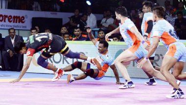 Pro Kabaddi 2019: अंतिम मिनिटात बेंगलुरू बुल्सचा बंगाल वॉरियर्स संघावर 43-42 ने विजय