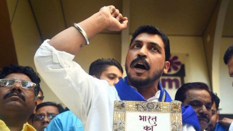 रवि दास मंदिर तोडफोड प्रकरण: भीम आर्मी प्रमुख चंद्रशेखर याच्यासह 96 जणांना अटक, 14 दिवस न्यायालयीन कोठडी