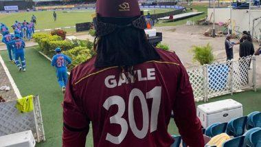 IND vs WI 3rd ODI: करिअरच्या अंतिम मॅचसाठी क्रिस गेल याने परिधान केली स्पेशल एडिशनची जर्सी