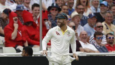 Ashes 2019: तुझ्या खिशात सॅण्डपेपर तर नाहीये ना? प्रेक्षकांच्या या प्रश्नांवर डेविड वॉर्नर याने दाखवले रिकामे पॉकेट