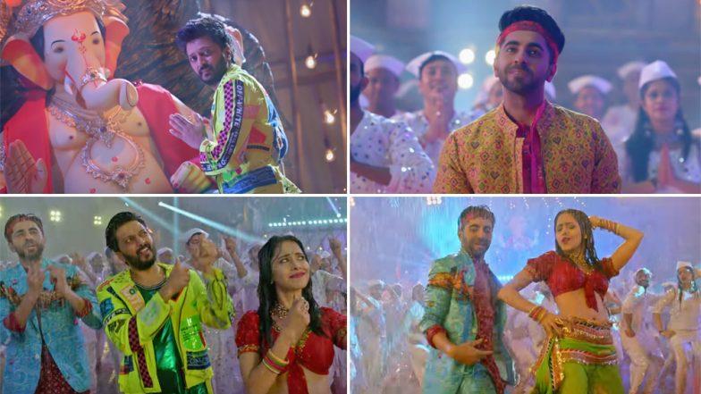 Dream Girl Song Dhagala Lagali: रितेश देशमुख, आयुष्मान खुराना, नुसरत भरूचा यांच्या खास अंदाजात ड्रीम गर्ल सिनेमामधील 'ढगाला लागली..' चं रिमिक्स व्हर्जन रसिकांच्या भेटीला! (Watch Video)