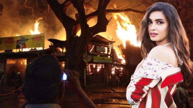 व्हिडिओ: अभिनेत्री Diana Penty हिने Mumbai Fire Brigade, Mumbai Police यांचे मानले आभार