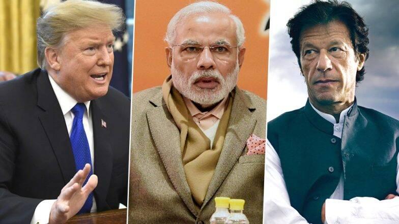 काश्मीर प्रश्नी नरेंद्र मोदी आणि इमरान खान यांची इच्छा असल्यास मध्यस्थी करायला आवडेल- डोनाल्ड ट्रम्प