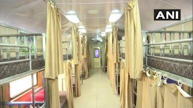 मुंबई: LifeLine Express Hospital Trainसीएसएमटी फलाट दहावर दाखल; रुग्णांवर कर्करोग, ईएनटी, प्लॅस्टिक सर्जरी उपचार उपलब्ध