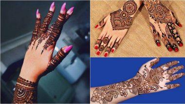 Bakri Eid 2019: बकरी ईद निमित्त या खास ट्रेंडी मेहेंदी डिझाइन्स नक्की ट्राय करून पहा