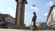 कलम 370 रद्द केल्यानंतर जम्मू-काश्मीर घाटीत माध्यमिक शाळा सुरु; शिक्षक, विद्यार्थी अनुपस्थित