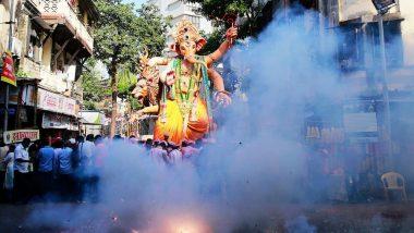 हैदराबाद: गणेशोत्सवावेळी फटाके वाजवण्यास बंदी, पोलिसांचे आदेश