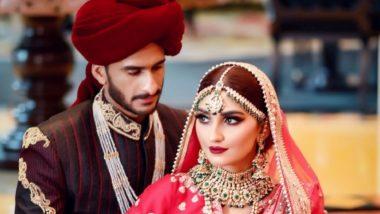 पाकिस्तानी क्रिकेटर हसन अली आणि हरियाणाची शामिया आरजू अडकले विवाह बंधनात, पहा लग्नाचे Photos