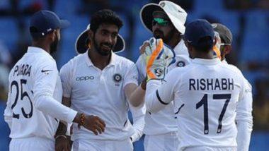 IND vs WI 2nd Test Day 2: जसप्रीत बुमराह याचा भेदक मारा, वेस्ट इंडिज बॅकफूटवर; दुसऱ्या दिवशी विंडीजने गमावले 7 विकेट