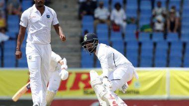 IND vs WI 1st Test Day 1: विराट कोहली, मयंक अग्रवाल आणि चेतेश्वर पुजारा स्वस्तात बाद, Lunch पर्यंत भारत 3/68