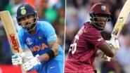 IND vs WI 2019: सुरक्षा कारणांमुळेवेस्ट इंडीज विरुद्ध टी-20 मालिकेच्या स्थळांची झाली अदला-बदली, पाहा आता कुठे होणार सामने