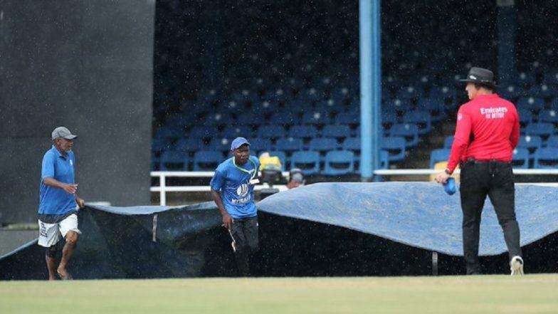IND vs WI 3rd ODI: तिसऱ्या वनडेमध्ये पुन्हा पावसाने घातला खोडा, खेळ थांबवला