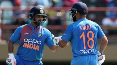 IND vs WI 2nd ODI 2019:  टॉस जिंकून टीम इंडियाचा बॅटिंगचा निर्णय, भारताच्या प्लेयिंग XI मध्ये कोणताही बदल नाही