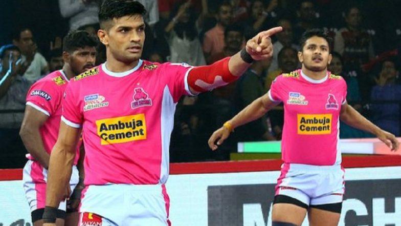 Pro Kabaddi 2019: एकतर्फी सामन्यात जयपुर पिंक पैंथर्सचा विजय, पुणेरी पलटणचा पाचवा पराभव