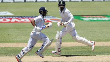 IND vs WI 1st Test Day 1: पावसामुळे सामना थांबला; भारताची धावसंख्या 134/4 अजिंक्य राहणे याचे निर्णायक अर्धशतक