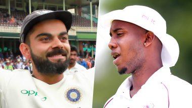 IND vs WI 1st Test: लज्जास्पद रेकॉर्ड करणाऱ्या मिगेल कमिन्स याच्या संथ फलंदाजीमुळे विराट कोहली भडकला; Sledge करत म्हणाला 'ही' मजेदार गोष्ट