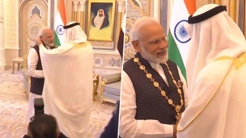 पंतप्रधान नरेंद्र मोदी यांचा Order of Zayed या UAE च्या सर्वोच्च नागरी पुरस्काराने गौरव