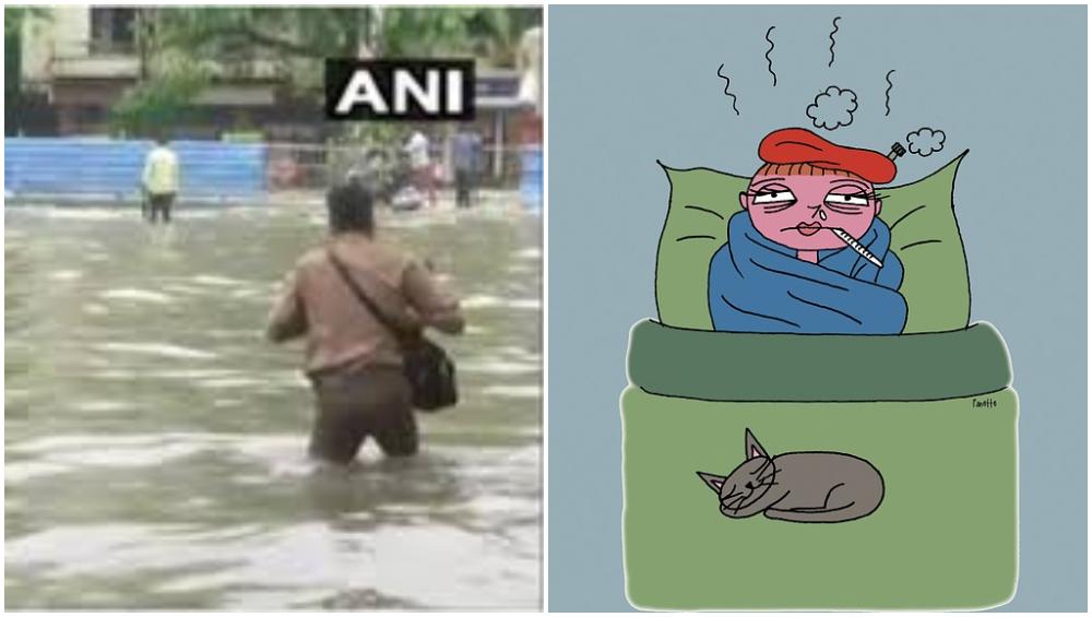 Mumbai Monsoon 2019: पावसाचा जोर, साथीचे आजार; तापाने फणफणले मुंबईकर