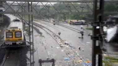 Mumbai Rain Update: रेल्वे ट्रॅकमध्ये पाणी साचल्याने बदलापूर हून CSTM कडे जाणारी रेल्वे वाहतूक बंद