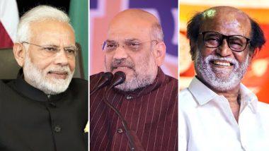 पंतप्रधान नरेंद्र मोदी आणि गृहमंत्री अमित शहा यांची जोडी म्हणजे जणू कृष्ण-अर्जुन: रजनीकांत