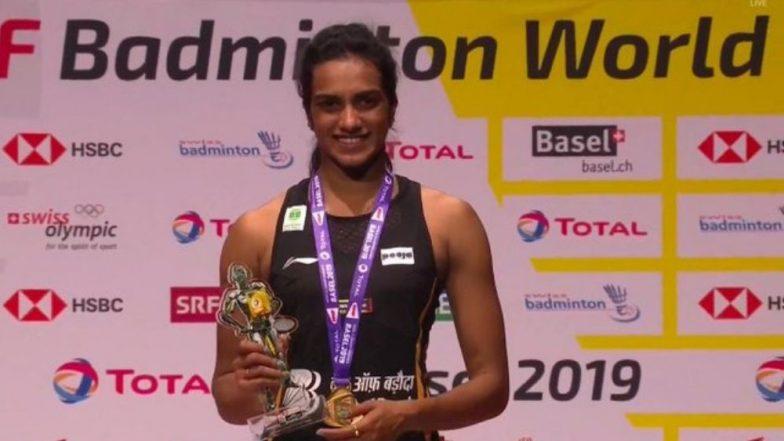 पी.व्ही. सिंधू ठरली 'जागतिक बॅडमिंटन चॅम्पियनशीप' ची मानकरी, स्पर्धा जिंकणारी पहिली भारतीय खेळाडू