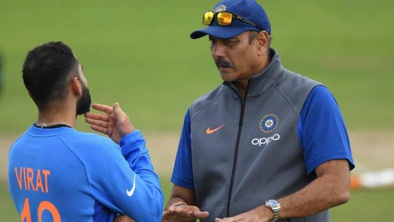 रवी शास्त्री यांची पुन्हा एकदा भारतीय क्रिकेट संघाचे प्रशिक्षक म्हणून नियुक्ती