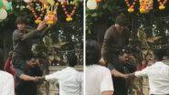 Dahi Handi 2019: अभिनेता शाहरुख खान याने 'मन्नत'वर फोडली दही हंडी, पहा व्हिडिओ