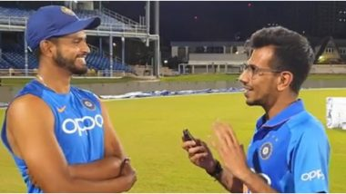 IND vs WI 2019: श्रेयस अय्यर याने Chahal TV ला दिला ट्विस्ट; विंडीजविरुद्ध धडाकेबाज फलंदाजीआधी Breakfast बद्दल दिली माहिती, पहा Video