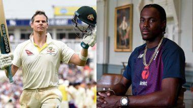 Ashes 2019: मॅनचेस्टर टेस्टआधी स्टिव्ह स्मिथ आणि जोफ्रा आर्चर यांच्यात रंगले शाब्दिक युद्ध