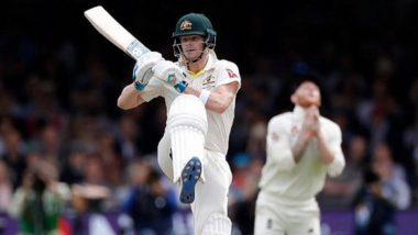 Ashes 2019: लॉर्ड्स टेस्टमध्ये स्टिव्ह स्मिथची विक्रमी खेळी, अॅशेसच्या इतिहासात 'ही' कामगिरी करणारा बनला पहिला फलंदाज