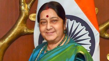 माजी परराष्ट्र मंत्री सुषमा स्वराज यांनी निधनाच्या अवघ्या तीन तास आधी मानले होते नरेंद्र मोदी यांचे आभार