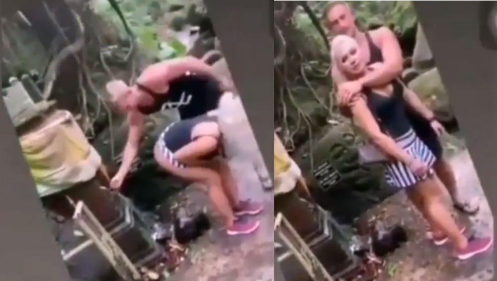 धक्कादायक!   हिंदू मंदिरामधील 'पवित्र पाण्याने' नवऱ्याने धुतला बायकोचा प्रायव्हेट पार्ट; पोलिसांच्या कारवाईच्या भीतीने मागितली माफी (Video)