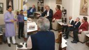 आंतरराष्ट्रीय स्तरावर महाराष्ट्राच्या महापुराची दखल; 8 देशांच्या राजदूतांनी घेतली संभाजी राजे यांची भेट (Video)