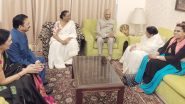 राष्ट्रपती रामनाथ कोविंद, राज्यपाल सी विद्यासागर राव आणि विनोद तावडे यांनी घेतली लता मंगेशकर यांची भेट (Photos)